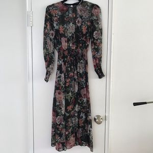 EUC Zara midi dress